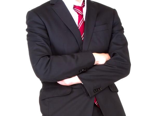 ネーム刺繍入りスーツの買取
