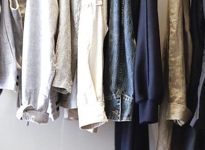 季節外れの衣類を買取